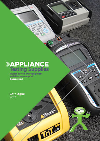 Appliance Testing Supplies Catalogue 2019